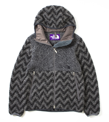nanamica / Herringbone Wool Fleece Jacket