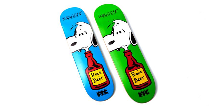 FTCとPEANUTS™の強力コラボレーションから生まれたSNOOPY™デッキが登場! |STROUT