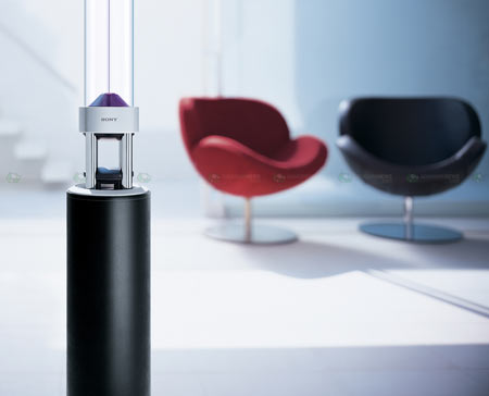 Sony Soutina NSA-PF1 Omnidirectional Speaker » HiFi-Ring.com - News, Info, Review, Price and Specifications of the Latest Consumer Electronic Products.