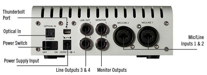 Apollo Twin High-Resolution Interface with Realtime UAD Processing