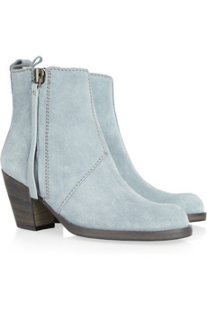 Acne Pistol Suede Ankle Boots | AnOther | Loves