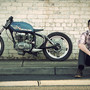 """Interview: Nick """"Much Much Go""""Eterovic - Pipeburn - Purveyors of Classic Motorcycles, Cafe Racers & Custom motorbikes"""