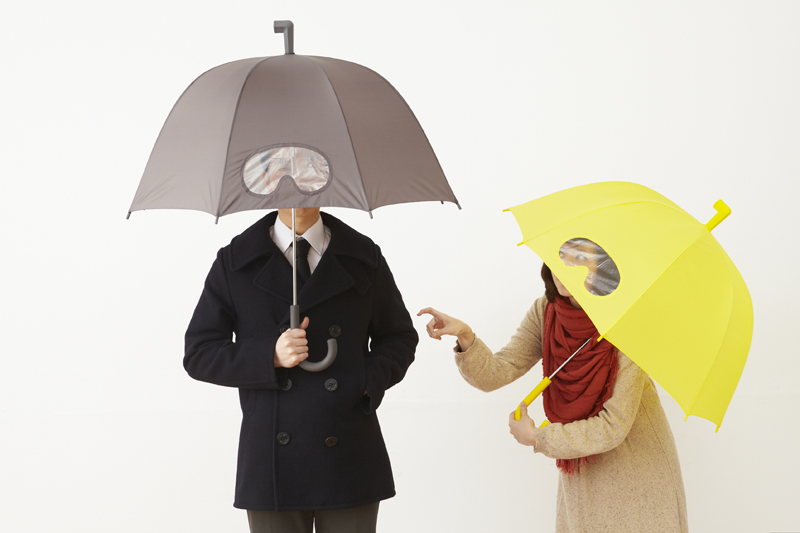 subswitch.jp » GOGGLES umbrella from Taiwan. Designed by 25TOGODESIGN