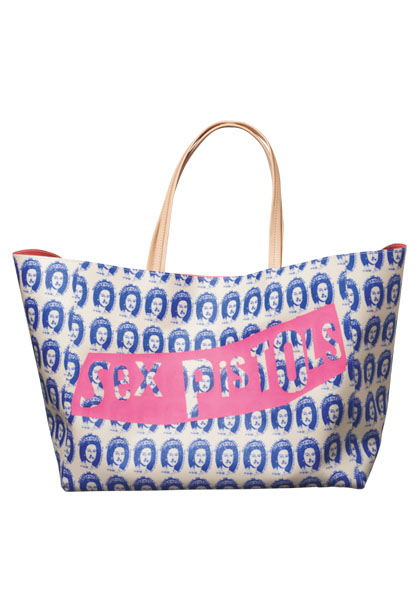 MEDICOM TOY - MLE SEX PISTOLS TOTE BAG