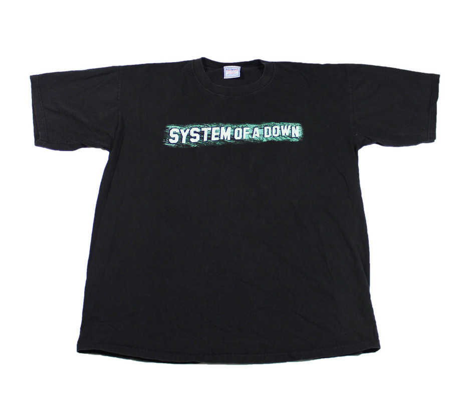 2001 System of a Down Toxicity Shirt Mens Size XL | Vintage Mens Goods