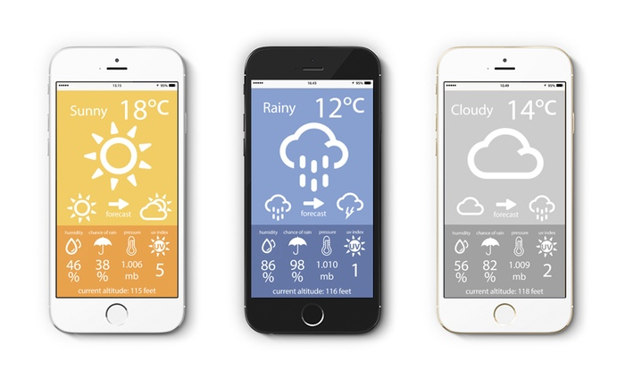 Weather Point - The World's Smallest Weather Station by Mind Lab — Kickstarter