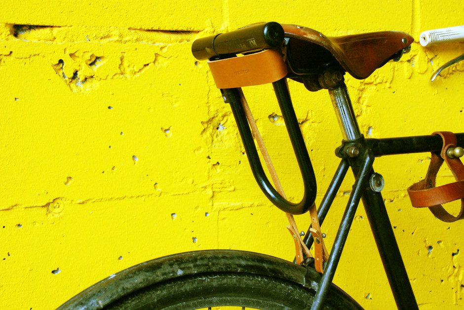Bicycle ULock Holster Classic by oopsmark on Etsy