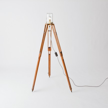 vintage photographer's tripod lamp | Folklore