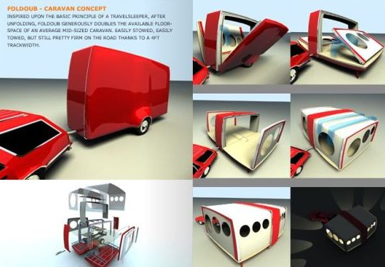 Camper Trailers: 16 Modern and Creative Camping Trailers
