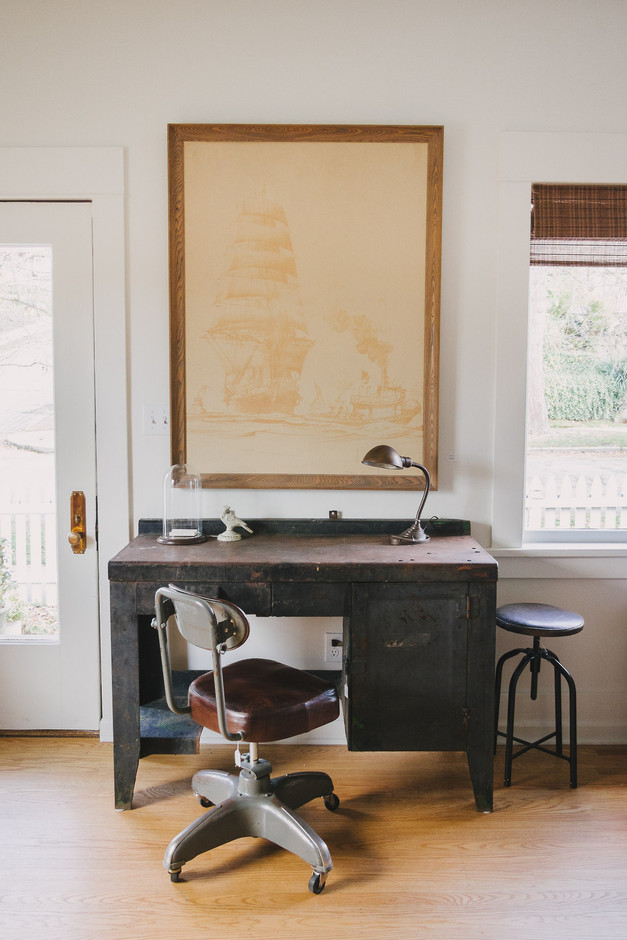 Homestead Seattle: We're sad to see this industrial desk go but at...