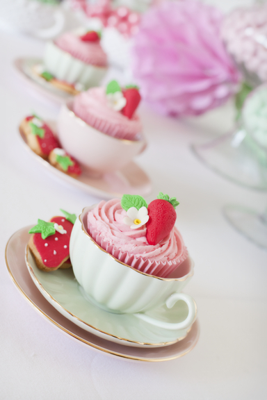Little Big Company | The Blog: Strawberry Tea Party by Little Big Company