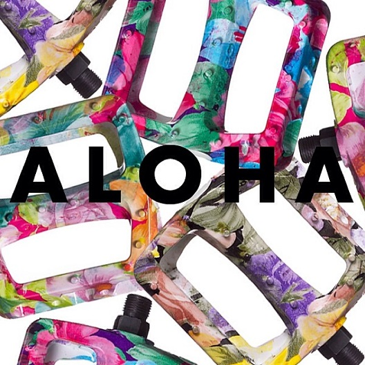 Twisted PC Aloha Pedals – Available Now « Odyssey BMX