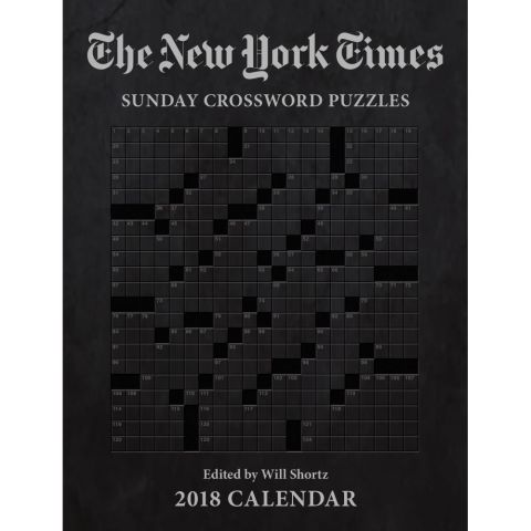 The New York Times Sunday Crossword Puzzles 2018 Planner: 9781449482589 | | Calendars.com