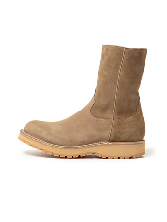 RANCHER ZIP UP BOOTS COW SUEDE by OFFICINE CREATIVE