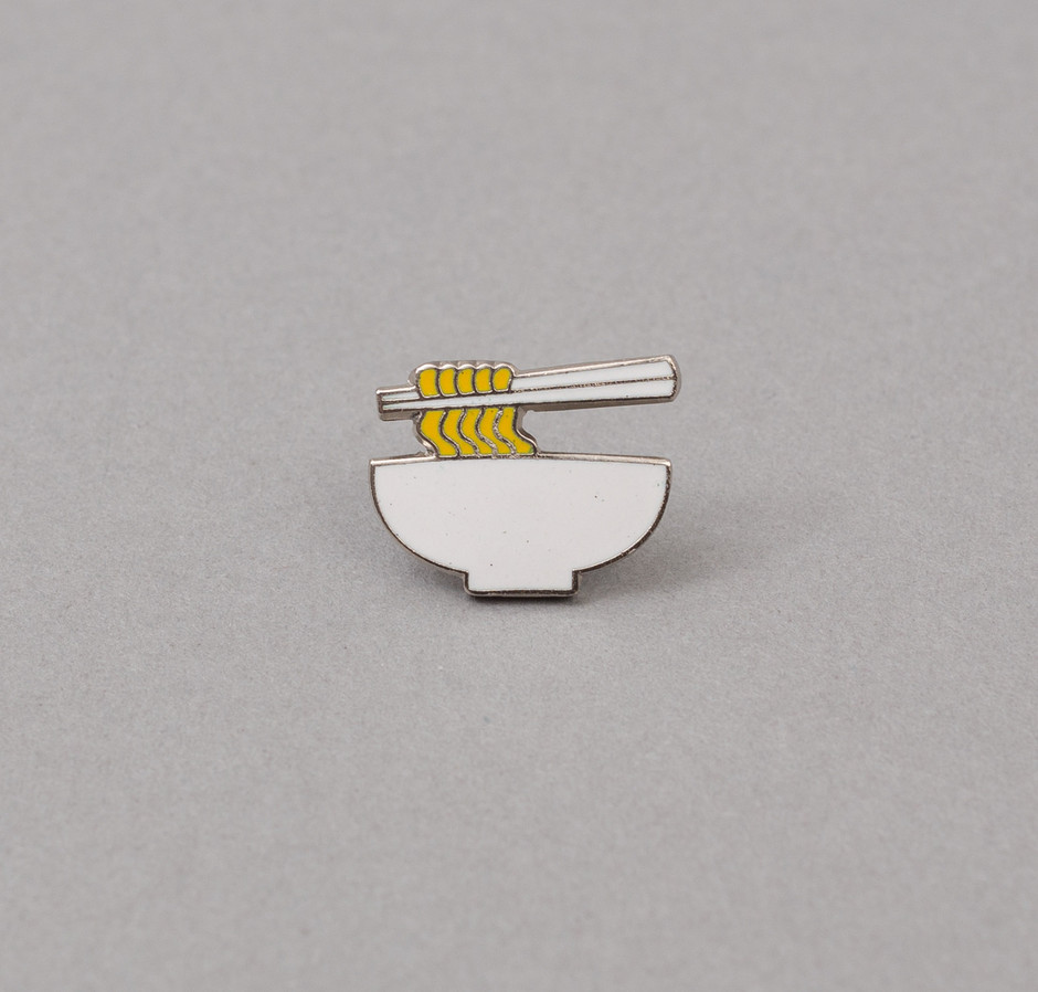 PN1-01 - Cloisonné Enamel Lapel Pin, Ramen – the-hill-side-wholesale-SS16