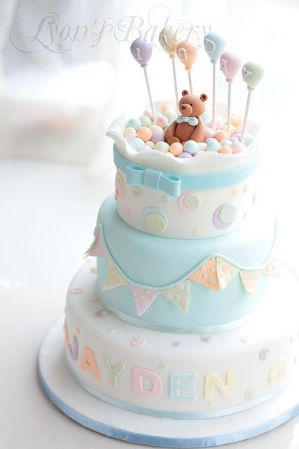 Baby Shower Cake | Projects to Try | Pinterest