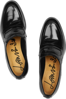 Lanvin?|?Patent-leather loafers?|?NET-A-PORTER.COM