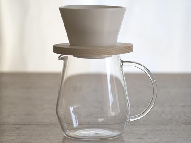 mountain coffee dripper