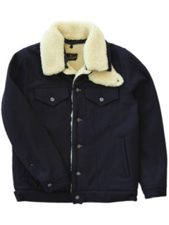 LOVE online store|MEN | ANALOG LIGHTING  Levi's 3rd Jacket with boa (navy)