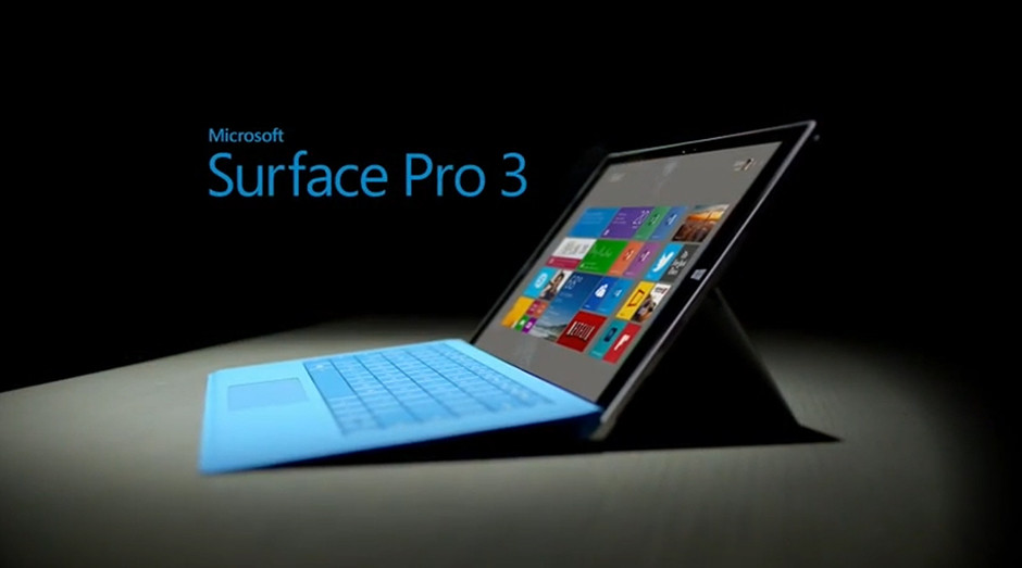 Live from Microsoft's Surface event in NYC!