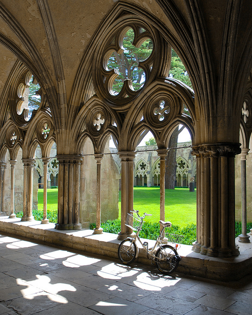 The bike in the cloister | Flickr - Photo Sharing!