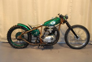 1968 Bsa A65 SPITFIRE MADE TO ORDER BOBBER CHOPPER MOTORCYCLE | Cocoa, Florida | Burgundee Bikes