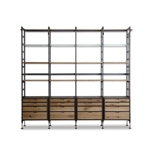 COMPLEX/商品詳細 ADNET WALL SHELF WITH 16 DRAWERS