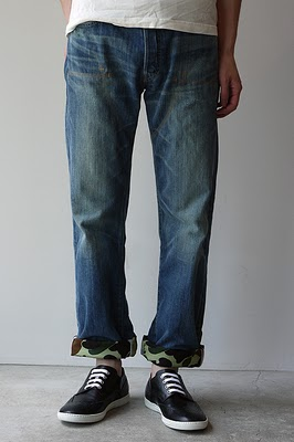 WEAR DIFFERENT: JUNYA WATANABE MAN AW 2010 x LEVI'S 505 and 1947