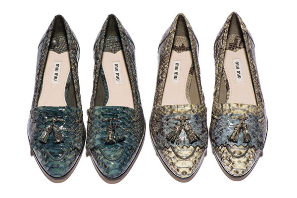 Photo 2- Forget Those Party Pumps: Miu Miu's New Moccasins ARE The Party