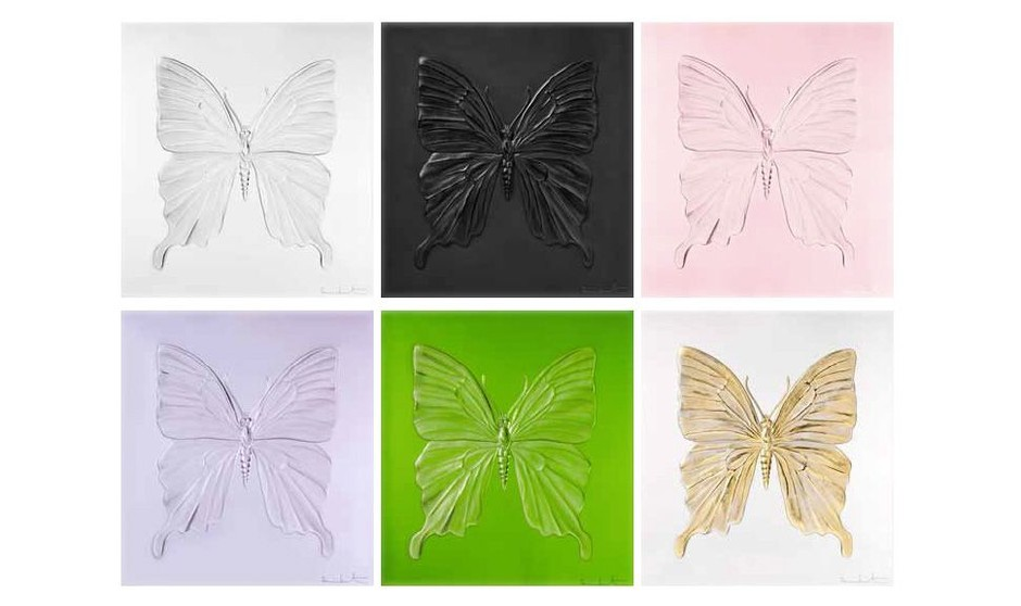 Lalique and Damien Hirst Launch Crystal Butterfly Panels | BLOUIN ARTINFO