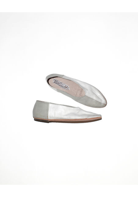 マルセル 2013/SS ■ marsell ■COLETELLACIO TWO-TONE SLIPPER Bianco & Pioggia |marsell マルセル | 海外通販ならLASO(ラソ)