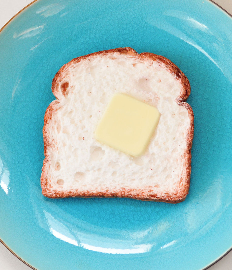 Toast Bread Soap Slice with Butter Pad cute by AubreyEApothecary