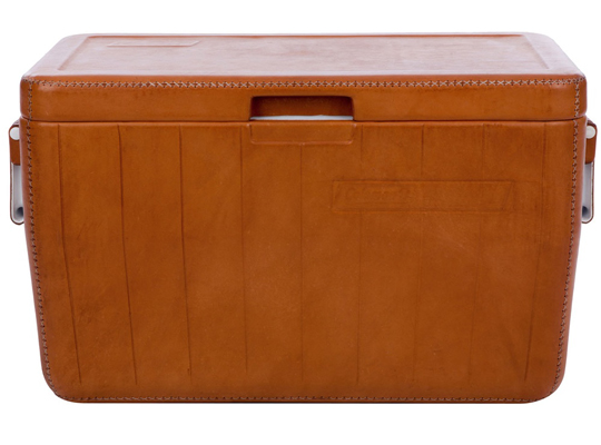 Sol and Luna - Leather Covered Cooler | Selectism.com