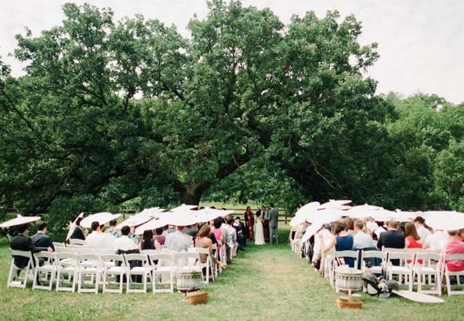 A Vintage Garden Wedding in Rochester, MN by Laura Ivanova Photography | The Knot Blog – Wedding Dresses, Shoes, & Hairstyle News & Ideas