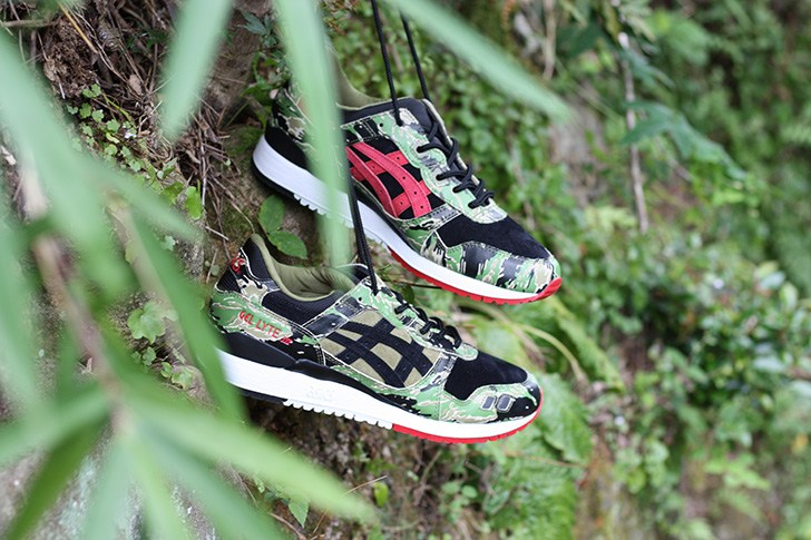 "ASICSTIGERは、atmosとのコラボレーションモデルGEL-LYTE Ⅲ for atmos ""GREENCAMO""を発売 