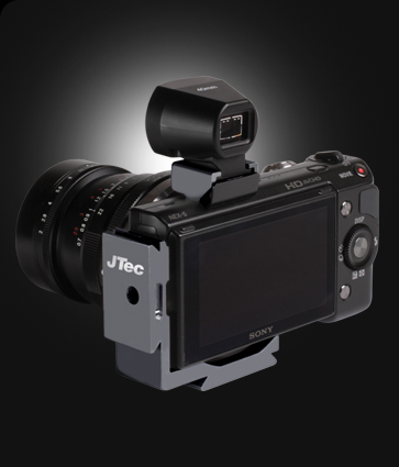 JTec - Camera accessories for the SONY NEX-5 : L-Bracket : Camera Plate : Tripod Mount: Cold Shoe Viewfinder Mount