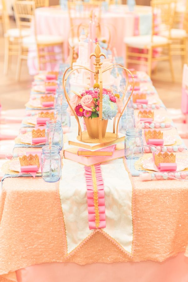 Inspired by This Pink Princess Birthday Party by Sienna Rose Photography | Inspired by This BlogInspired by This Blog