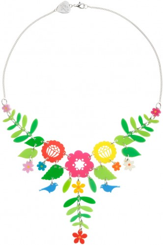 Mexican Embroidery Large Necklace - multicoloured - Spring/Summer 2012 - By collection - By product - Shop