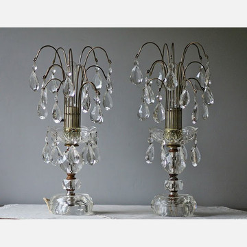 Fab.com | Chandelier Style Table Lamps