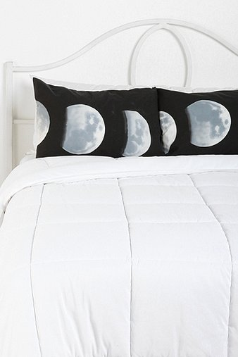 Moon Phase Pillowcase - Set Of 2 - Urban Outfitters