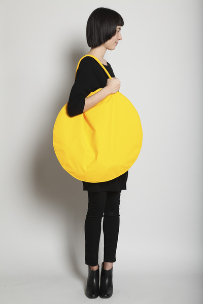 TOTOKAELO - Draft nº 17 by Jasmin Shokrian - Compass Bag Taslan - Yellow