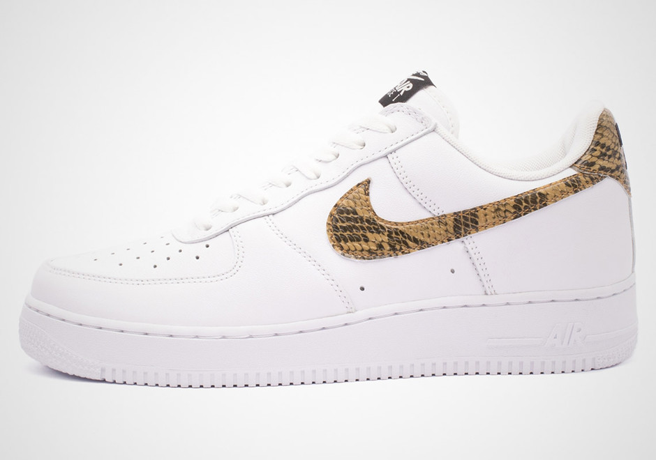 Nike Air Force 1 Python Snake Release Info (Store List) | SneakerNews.com