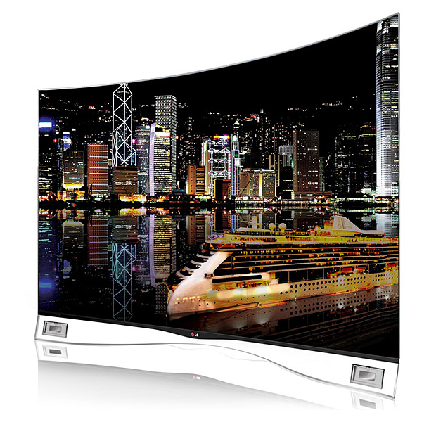 LG Curved OLED TV at werd.com
