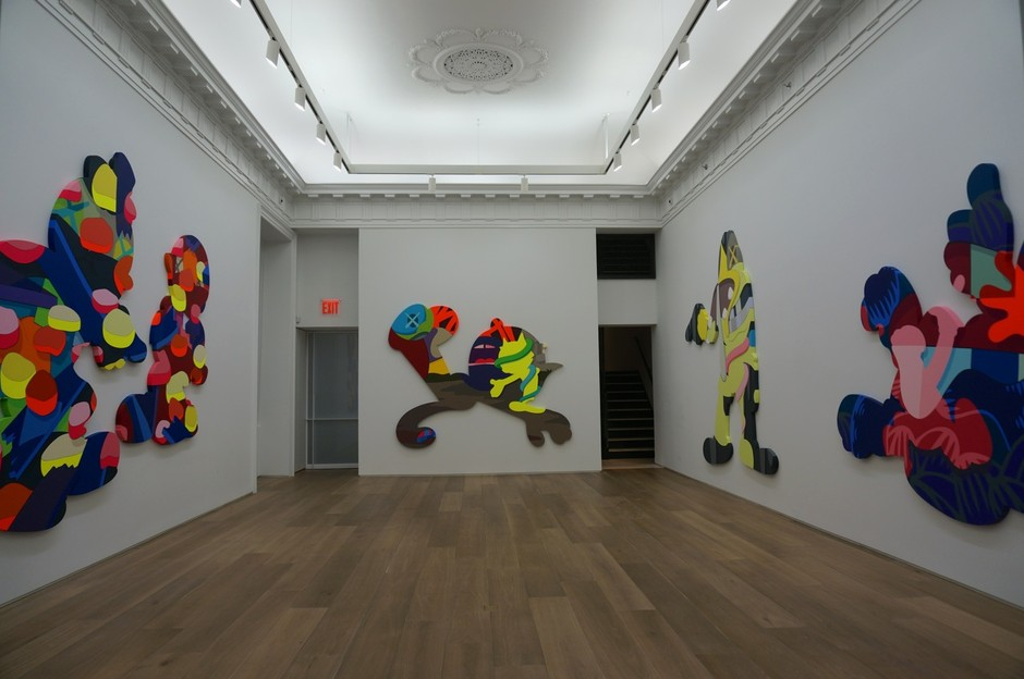 "Openings: KAWS – ""Pass The Blame"" @ Galerie Perrotin (New York) « Arrested Motion"