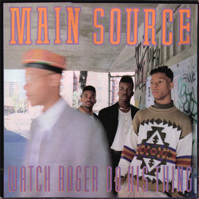 """diskunion渋谷CLUB MUSIC SHOP - MAIN SOURCE / WATCH ROGER DO HIS THING 12"""" デッドストックで入荷!!"""
