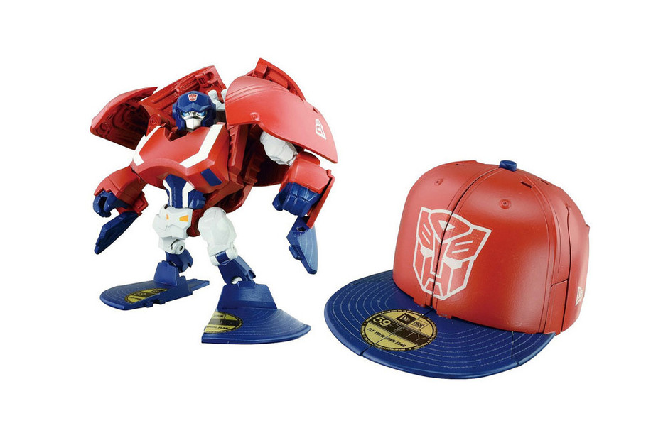 Takara Tomy x New Era - Transformers Cap Bots • Highsnobiety