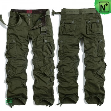 Army Green Cargo Pants CW100016