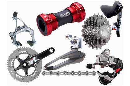 SRAM Red Compact 2011 Groupset (OE) | Evans Cycles