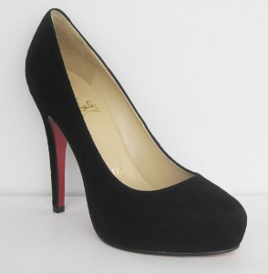 Christian Louboutin lambskin leather ROLANDO Black suede | Shop | Kaboodle