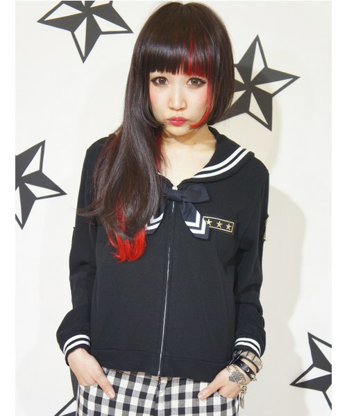 Candy Stripper / PLAY UP! SAILOR PARKA(パーカー) - ZOZOTOWN